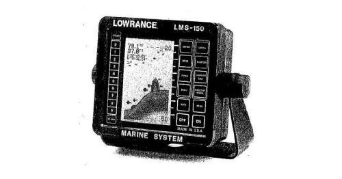 Lowrance LMS-150 Transducers