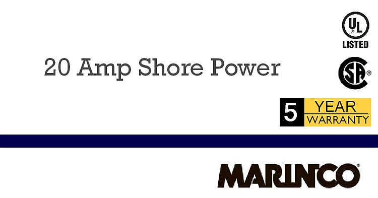 Marinco 20A Shore Power Products